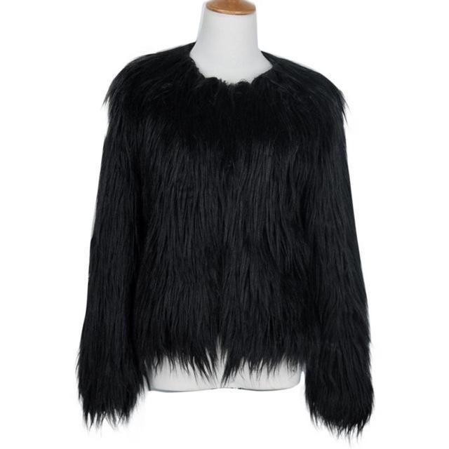 Female Faux fur Elegant Coat