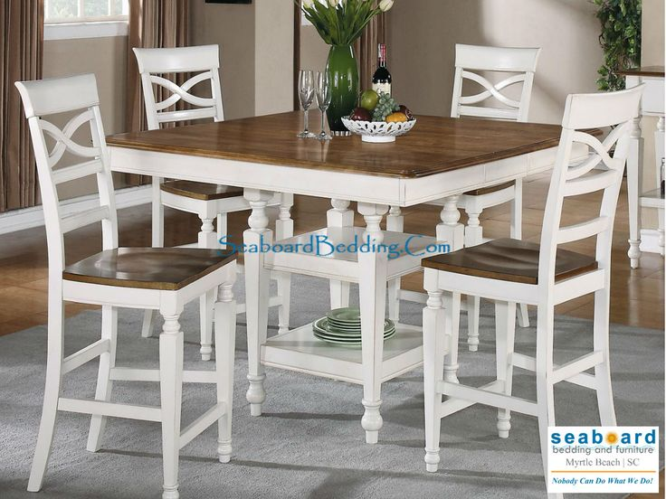 Ashley White Pub Table Collection by Coaster A beautiful country table to wake up the morning. Counter Height Table SetsCoaster ... & 48 best Pub Tables images on Pinterest | Pub tables Dining room ...