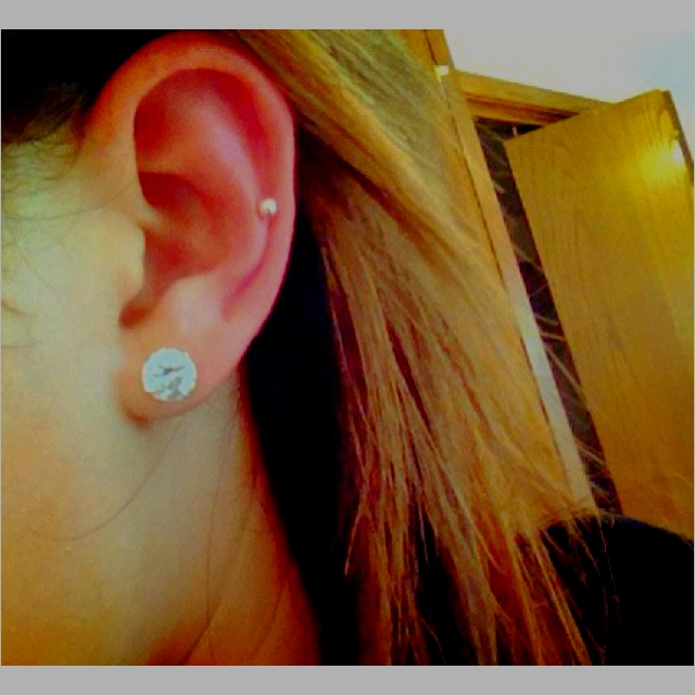 Cartilage Piercing. This is the spot I want