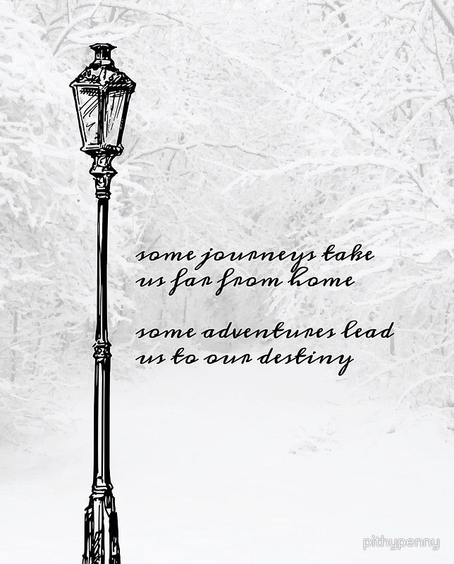 Narnia Lamp Post by pithypenny