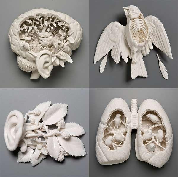 Morbid Plaster Creations - Online Blog Features Disturbing Plaster Art