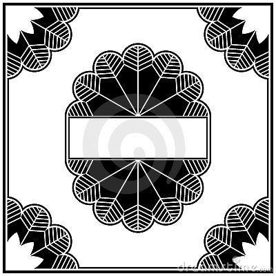 Art deco design elements collection border by sirup via for Element deco design