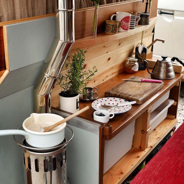 456 Best Camper Kitchen Images On Pinterest