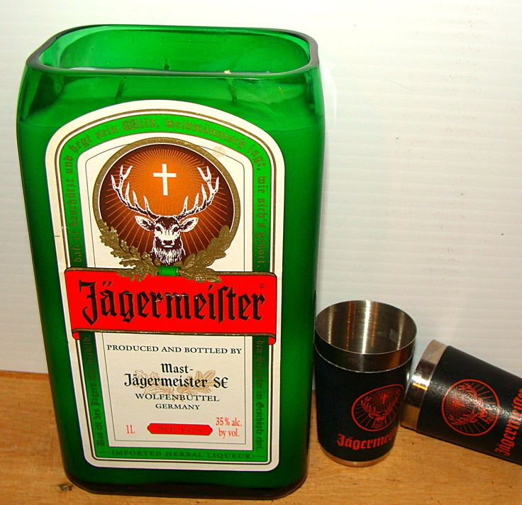 Jagermeister Candle by CraftwicCandles on Etsy