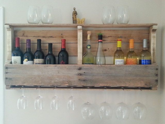 How to make a wine rack from a wood pallet this wine rack for How to make a wine rack out of pallet wood