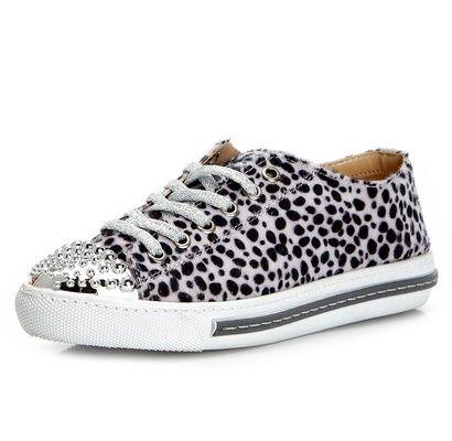 Güzellik Blog: İssimo Shoes Beyaz Bağcıklı Ayakkabı