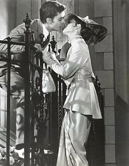 "Jeremy Brett and Audrey Hepburn, ""My Fair Lady"" (1964)"