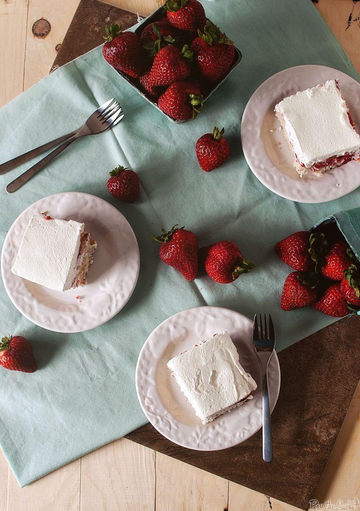 strawberry poke cake @Kita Roberts