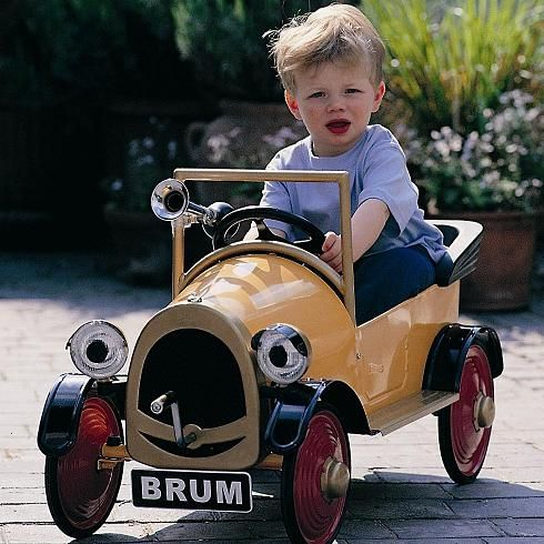 Brum Pedal Car Brum Pedal Car Free Optional Horn Included