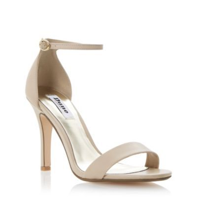 DUNE LADIES Neutral HYDRO - Two Part Ankle Strap Sandal | Dune Shoes Online