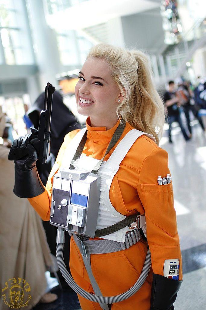 Star wars girl in clone costum porn pics