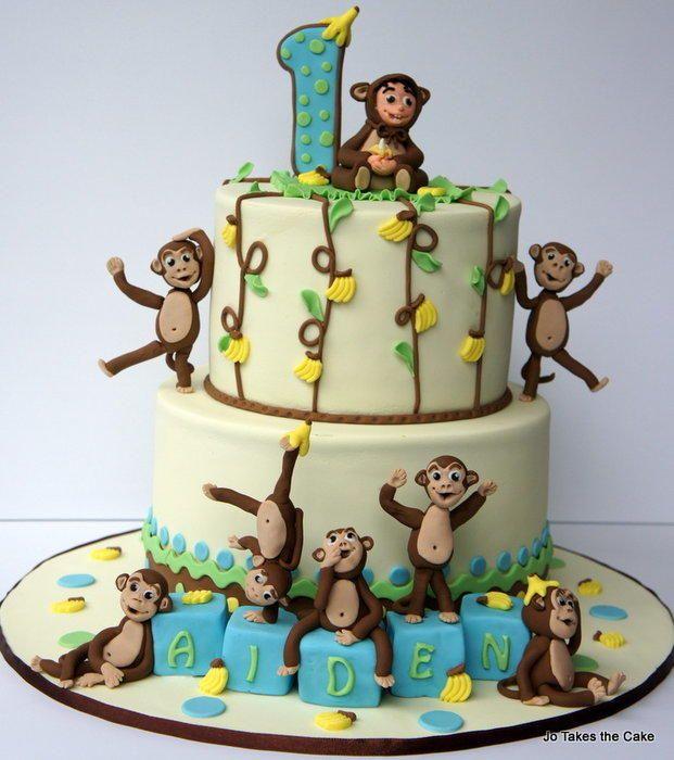 Monkeying Around - Cake by JoTakestheCake