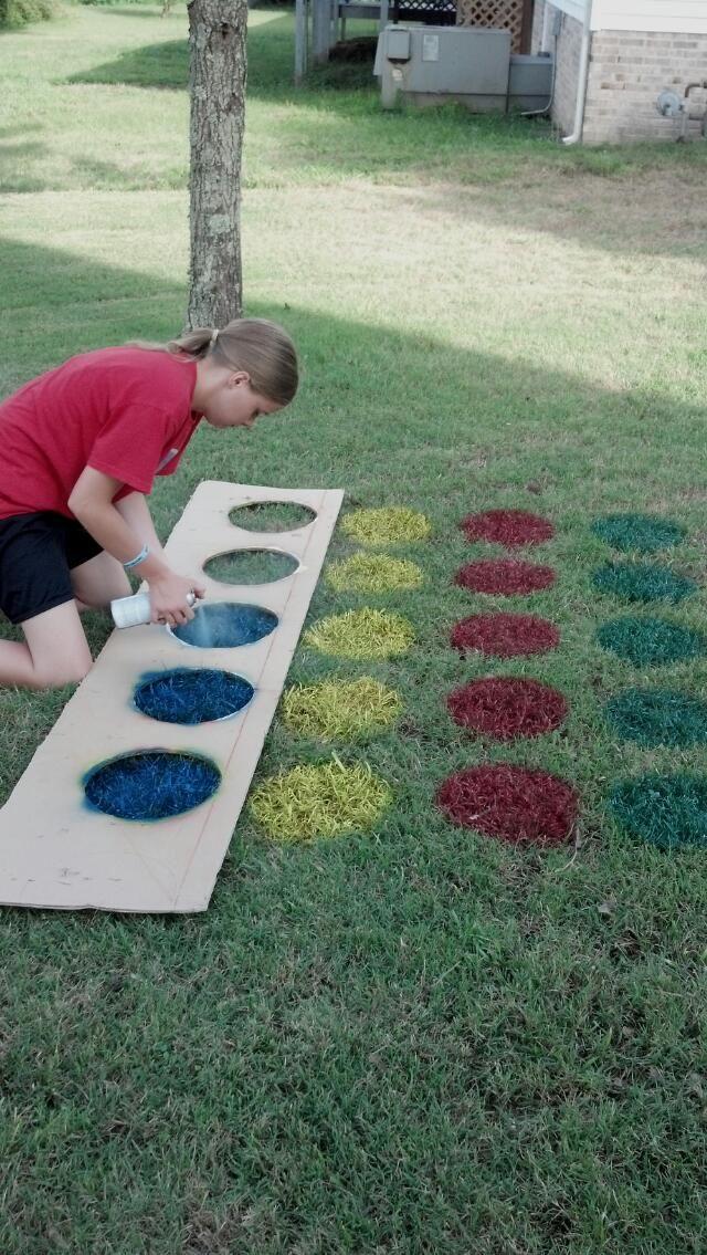 Yard Twister...kids loved it