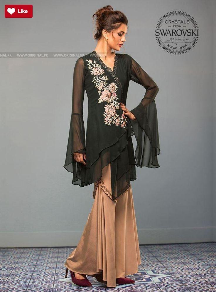 Zainab Chottani Jade green mist Eid Pret 2017 - Original Online Shopping Store