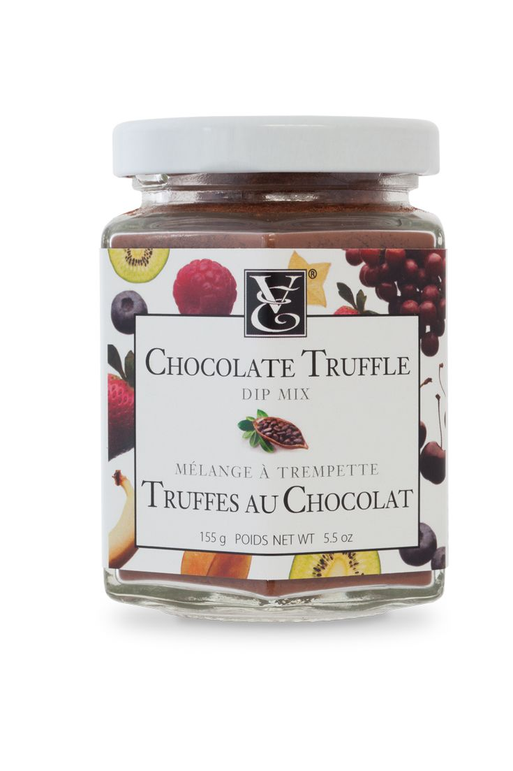 NEW! Chocolate Truffle Dip Mix - True love is only a spoonful away. Delight in real ingredients: organic cocoa, organic cane sugar, and real vanilla bean. Add a little sweetness to muffin or pancake batter, or sprinkle over oatmeal for a sweet surprise. #kosher #nosodium