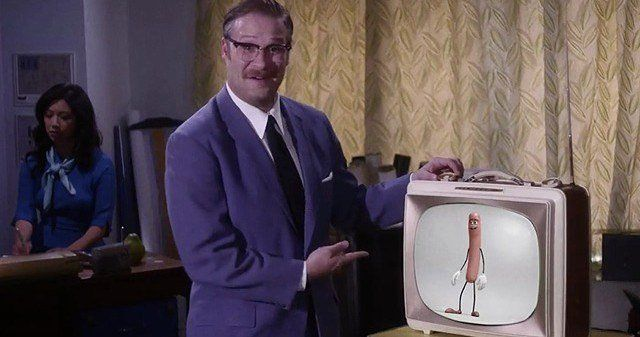 'Sausage Party' Preview Has Seth Rogen Spoofing Walt Disney -- Seth Rogen parodies the legendary Walt Disney himself in a sneak peek at 'Sausage Party', in theaters August 12. -- http://movieweb.com/sausage-party-preview-seth-rogen-walt-disney-spoof/