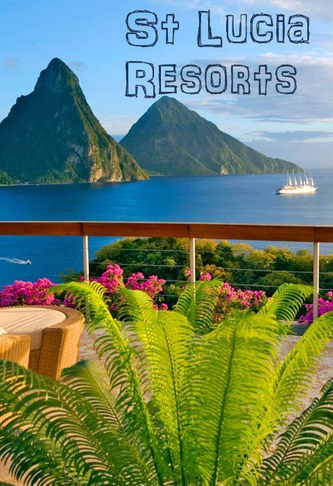 25 best ideas about st lucia resorts on pinterest jade for Best luxury all inclusive resorts caribbean