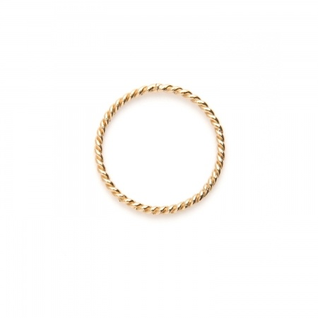 Gold rope ring: Gold Thumb Rings, Cocktail Rings, 14K Gold, Gold Rings, Gabriela, Jewelry Rings
