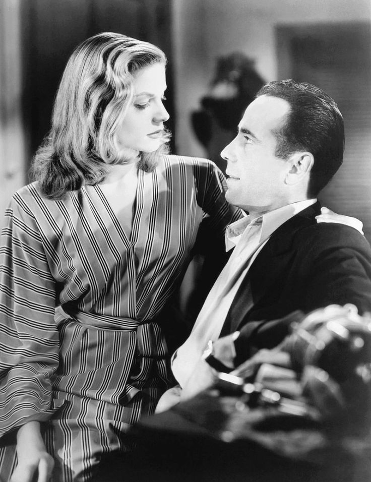 Humphrey Bogart and Lauren Bacall in To Have and Have Not (Howard Hawks, 1944)
