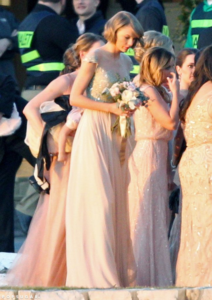 "Taylor Swift was the ""Happiest Maid of Honor"" at her best friend's wedding"