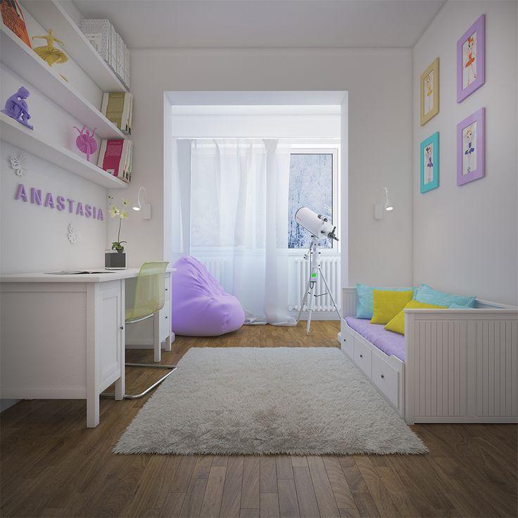 """3D Render """"Kid room"""""""