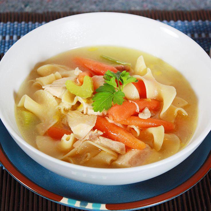 Te presentamos una receta de sopa de pollo fácil de preparar y con un delicioso toque oriental.