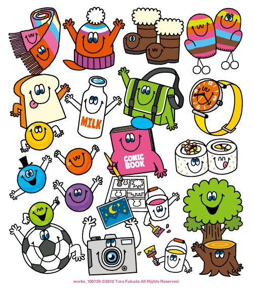 Perfect English 2010年11〜12月号ベネッセの進研ゼミ小学講座教材「パーフェクトイングリッシュ」2010年11~12月号の表紙イラストを手掛ける。