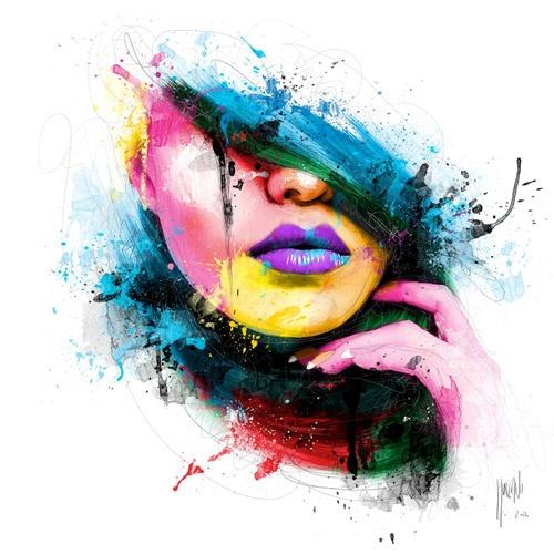 by Patrice Murciano: Patrice Murciano, Art Paintings, Artworks, Canvas Paintings, Patricemurciano, Color, Digital Art, Portraits, Acrylics Paintings