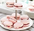 Raspberry almond bites and other cute dainty tea party food