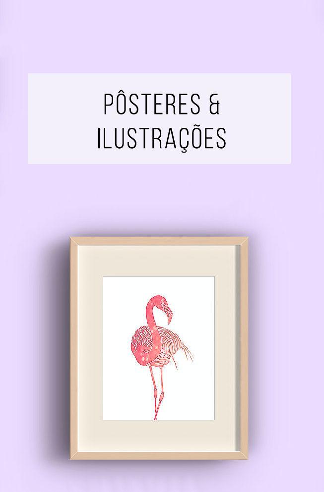 Pôsteres, ilustrações, grafites - artes e artistas que você precisa conhecer! + Pôsteres para download gratuito! // palavras-chave: arte, mural, parede, quadro, washi-tape, flamingo, gato, poster, poster na parede, graffiti, download gratuito.