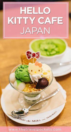 The cutest Hello Kitty Cafe in Odaiba, Japan. #hellokitty #Japan #sanrio #themedcafe #cafe