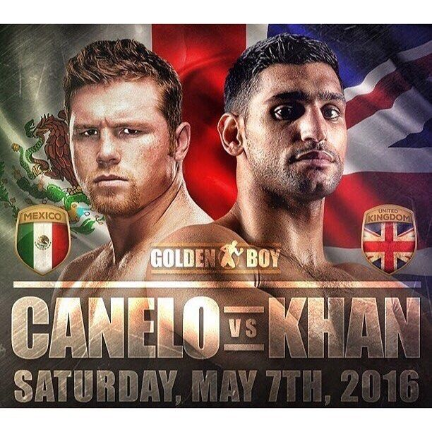 Canelo Alvarez vs. Amir Khan goes down tomorrow night. Comment with your pick below