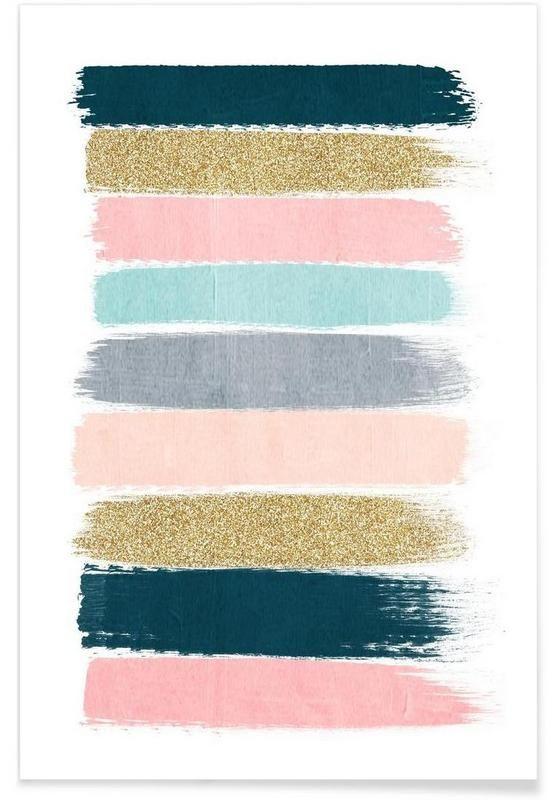 Zara en Affiche premium par Charlotte Winter   JUNIQE