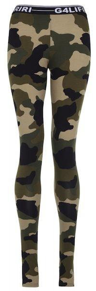 Camouflage Print Leggings #Rihanna for River Island #Fall2013 #fashion #trend