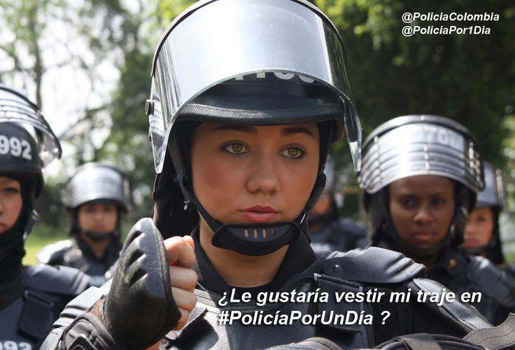 No te imaginas lo que un Policía está dispuesto hacer por su comunidad. Te invitamos a vivir la experiencia de ser #PolicíaPorUnDía http://bit.ly/1q9gnti