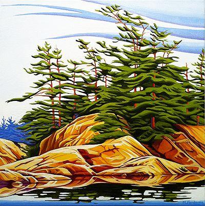 """""""Summer North Shore"""" by Margarethe Vanderpas"""