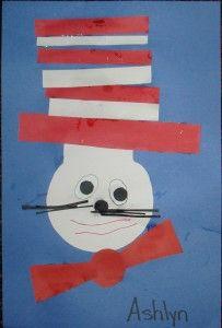 Dr. Seuss Week in preschool...