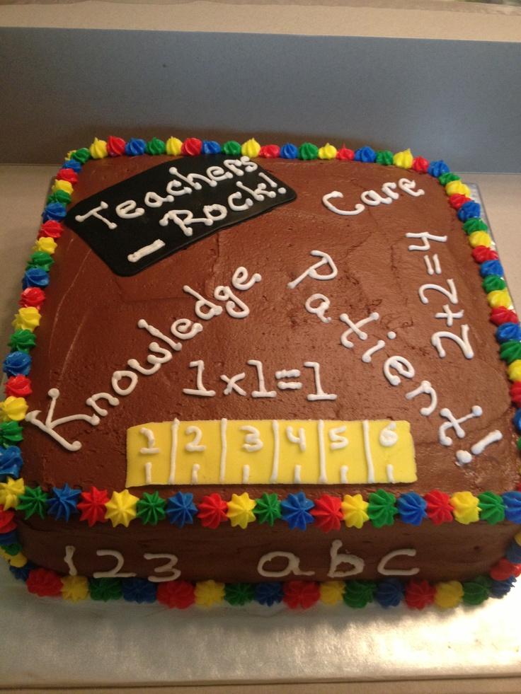 8 best teacher appreciation desserts images on Pinterest ...