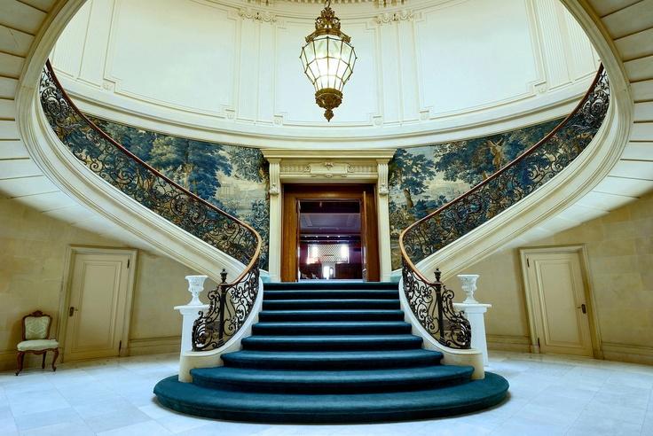Grand Staircase Elstowe Manor Elkins Park Pennsylvania