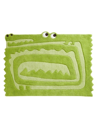 Alligator Or Crocodile Or Lizard Rug