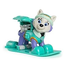 Paw Patrol - Winter Rescues Action Pack Pup, Everest mit Snowboard