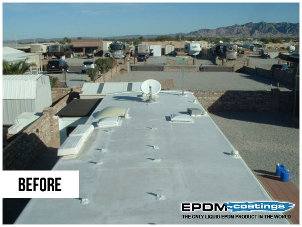 Roof Repair Coatings And Where To Use Liquid Epdm Rubber Roof Repair Roof Leak Repair Rv Roof Repair