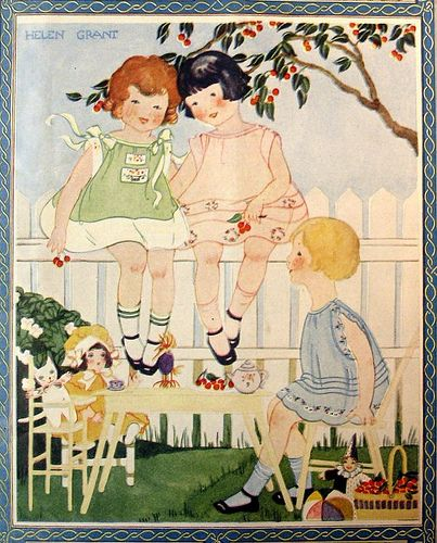 Needlecraft July 1926, cover by Helen Grant, from cluttershop, via Flickr