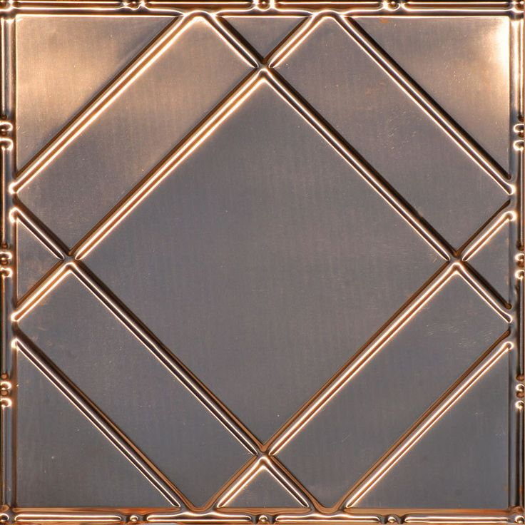 decorative ceiling tiles inc store floating geometry copper ceiling tile - Decorative Ceiling Tiles