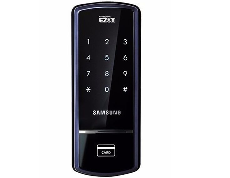 Fechadura Eletrônica 21usúarios Senha Cartão Shs1321 Samsung - R$ 759,90