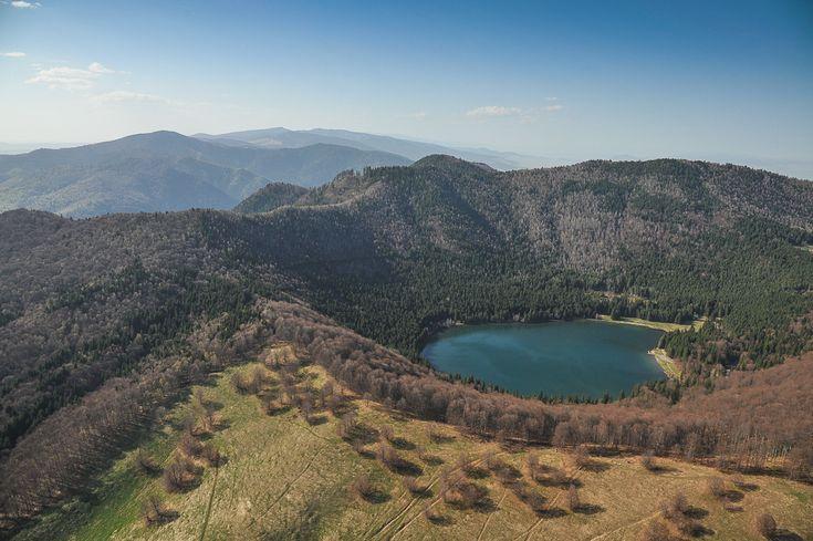 #Transylvania Lacul Sfânta Ana. (  Dragoş Asaftei  )