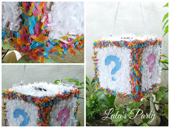 Hey, I found this really awesome Etsy listing at https://www.etsy.com/listing/169734029/gender-reveal-cube-hit-pinata-baby