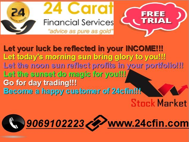 we provide free profit calls for EQUITY & COMMODITY tips.If you want more information regarding the Stock cash tips, Stock tips, Nifty tips, Commodity tips, Equity tips missed call @ 9069102223 please drop your number for profit calls....#stockcashtips #stockfuturetips #freetradingtips  for free trial  => http://24cfin.com/free-trial