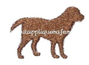 Mini Embroidery Dog Design
