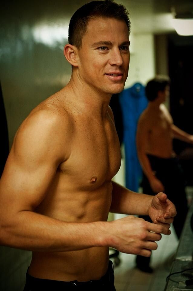 Channing Tatum. Inspiring.... For so many reasons!